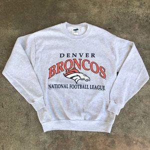 Other - Vintage 90's Denver Broncos  Crewneck Sweater